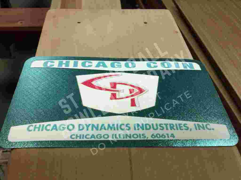 Chicago Coin Box Sticker for sale
