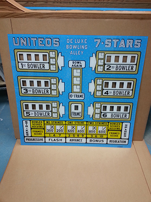 1961 United 7 STAR DeLuxe
